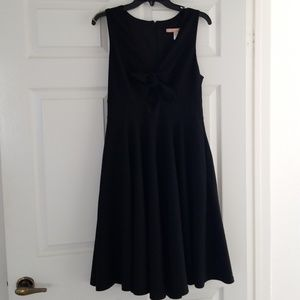 Hutch by Anthrpologie Black Keyhole Dress